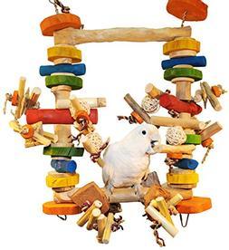 ULTIMATE Chew & Swing Delight Bird Toy - Super Zoo Tradeshow