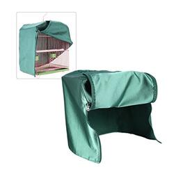 SYOOY Universal Bird Cage Cover Shade Windproof Cloth Green