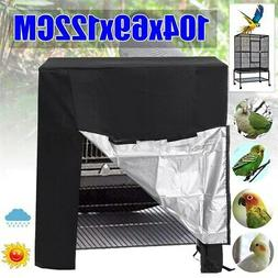 US Large Waterproof Oxford Cloth Universal Parrot Bird Cage