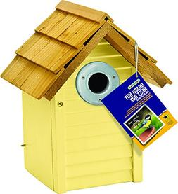 Gardman USA BA01680 Beach Hut Nest Box Yellow