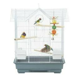 Victorian Bird Home All Living Things Cage for Small Birds,