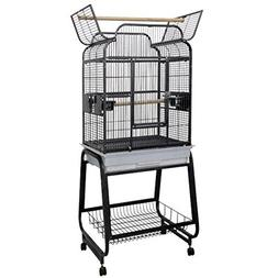 A & E Cage Co. Victorian Open Play Top Bird Cage with Stand