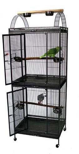 "Waimea Wingplex Double Stack Bird Cage - 30""W x 24""D x 74""H"