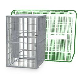 Walkin Aviary Addition Attachment Bird Cage Parrot Macaw Coc