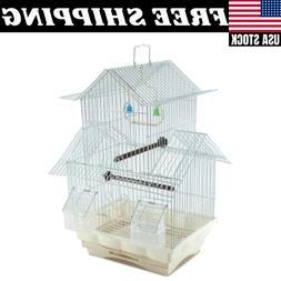 white bird cage house style starter kit