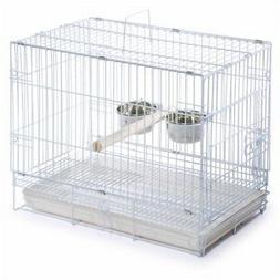 White Travel Bird Cage