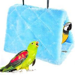 Winter Warm Bird Nest House Shed Hut Hanging Hammock Finch C