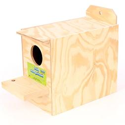 Ware Manufacturing Wood Bird Regular Nest Box, Love