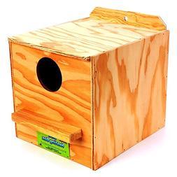 Ware Manufacturing Wood Cockatiel Regular Nest Box, Tiel