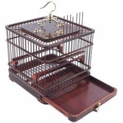 Bird Cage Wooden Aviary House Handmade Birdcage F/Cockatiel