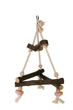Trixie Natural Living Swing On Rope, 27 x 27 x 27cm