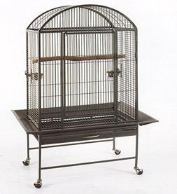 New Large Wrought Iron Bird Parrot Finch Macaw Cockatoo Cage