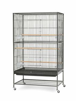 Prevue Wrought Iron Flight Cage w/ Stand Bird Parakeets Encl