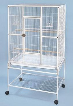 Large Wrought Iron Metal Bird Flight Cage Aviary With Remova
