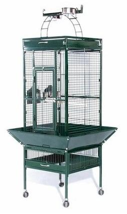 Prevue Small Wrought Iron Select Bird Cage / Safe With Push