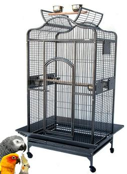 X-Large Bird Parrot Dome Cage For Large Size Parrot Macaw Co