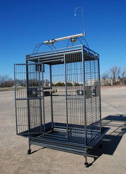 XX-Large Parrot Cage For Macaw African Grey Amazon Large Bir