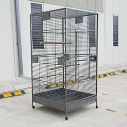 XXL Large Bird Flight Cage Parrot Aviary H80xw40xd40