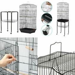 Yaheetech Rolling Mid-Sized Parrot Bird Cage Cockatiel Conur