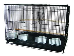 YML 4x2474BLK and 1x4164BLK Lot Of 4 Medium Breeding Cages W