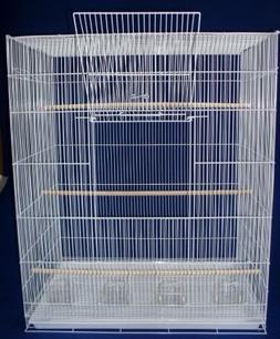 YML Large Bird Cage; White