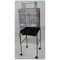 YML Medium Wire Bird Cage with Open Playtop